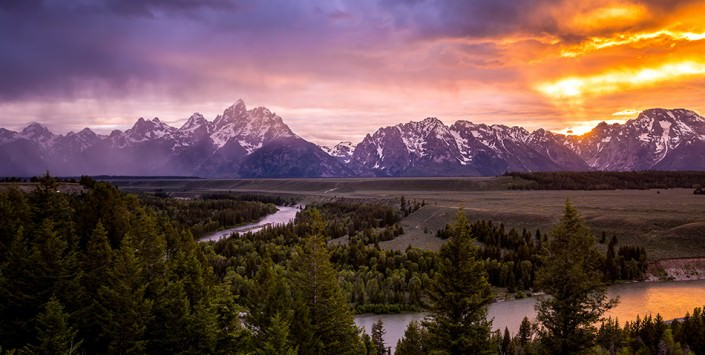 The Grand Tetons Tour