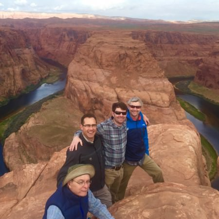 Horseshoe bend in Arizona